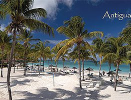 Long Bay, Antigua Postcard