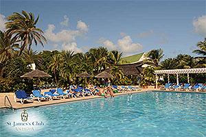 "Mamora Bay, St. James's Club, Antigua W.I. Collectible Postcard ANU4659,size 153mm * 102mm ( 6"" x 4"")"