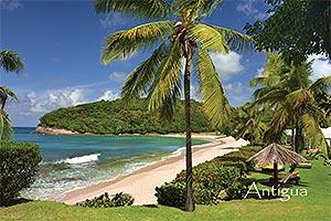 "Hawksbill Bay Antigua W.I. Collectible Postcard ANU4662A,size 153mm * 102mm ( 6"" x 4"")"