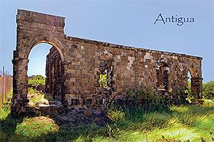 Block House, Antigua Collectible Postcard ANU4670