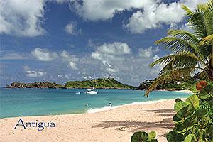 Galley Bay, Antigua Postcard collectible ANU4675