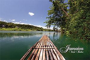 Rio Grande Rafting, Jamaica Postcard