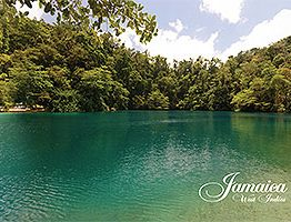 Blue Hole, Jamaica Postcard