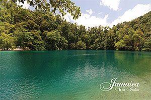 Blue Hole, Jamaica Postcard