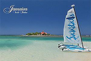 Jamaica Postcard Sandals
