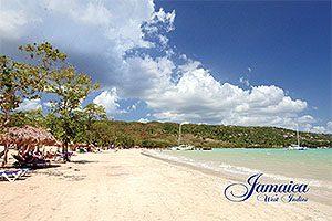 Jamaica Postcard Whitehouse Sandals