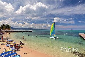 Jamaica Postcard Decameron Resort