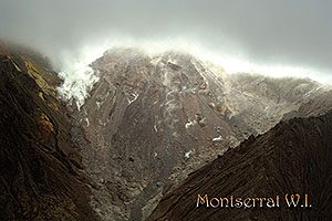 Volcano Crater Postcard