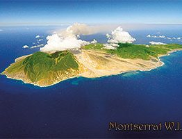 Montserrat aerial postcard
