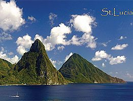 St. Lucia Postcards