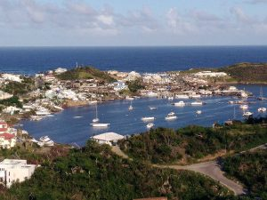 Oyster Pond area in SXM