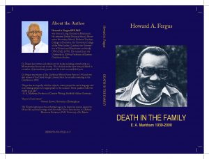 """""""Death in the Family """" Book By Howard Fergus"""
