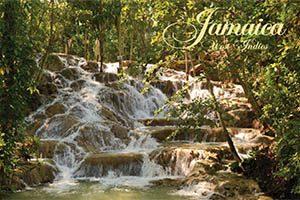Waterfall Fridge Magnet 008 Jamaica by KIMAGIC
