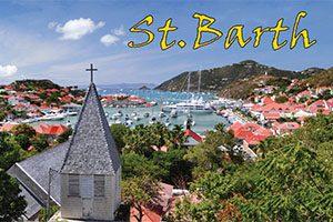 Saint Barth fridge magnet 001
