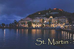 Marigot in Saint Martin fridge magnet 006 by KiMAGIC