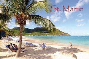 Anse Marcel Bay in Saint Martin fridge magnet 029 by KiMAGIC