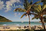 Friar's Bay in Saint Martin fridge magnet 031