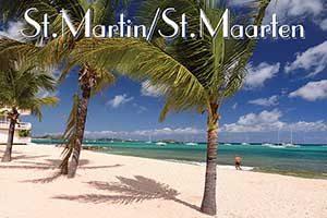 Le Beach Hotel in Saint Martin fridge magnet 032