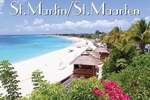 La Samana Hotel in Saint Martin French West Indies fridge magnet 034