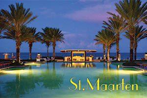 The Westin Hotel in Sint Maarten fridge magnet 035