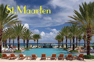 The Westin Hotel in Sint Maarten fridge magnet 036