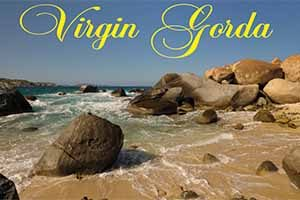The Baths Virgin Gorda, fridge magnet
