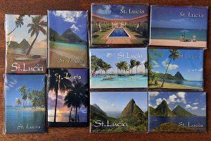 Saint Lucia fridge magnets