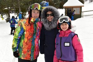 Learning to Snowboard in Blue Mountain Ski Resort