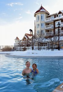 Outdoor swimming Pool in Westin Trillium Hotel at Blue Mountain Resort