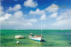 Codrington Lagoon, Barbuda, Collectible Postcard