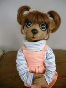 """Gloria-puppet character from Noreen Young Show """"Under the Umbrella Tree"""""""