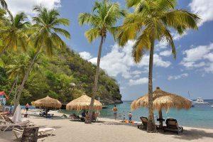 Anse Chastanet Beach, Saint Lucia