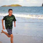 Evening Run in Coconut Bay Beach, Vieux Fort, Saint Lucia