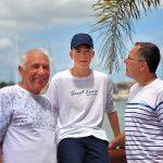 Three Generations at Harbor Club, Rodney Bay, Saint Lucia