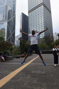 HK high jump