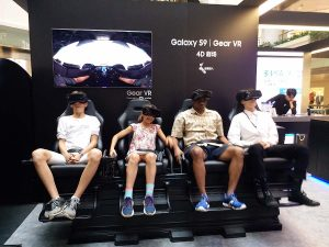 Lets try new Galaxy S9 virtual reality
