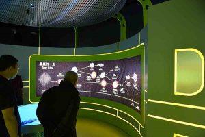 Bright Display in Space Museum Hong Kong