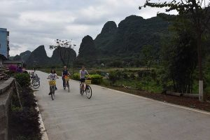 Yangshuo Scenic bike ride