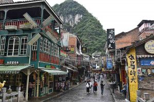 West Street in Yangshuo