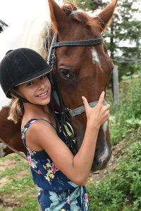 King and Queen at Conestogo River Horseback Adventures