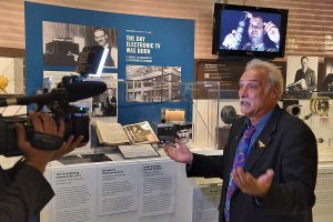 Interview with Phil Savenick during the opening night at MZTV Museum of Television in Toronto