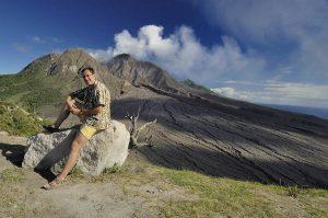 2006 January - Travel Photographer Igor Kravtchenko - KiMAGIC-Soufriere Hills Volcano in Montserrat