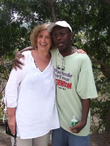 2007 March 01 Laurie Gluck with King of Soca- Arrow Cassel