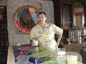 2007 March 01 Travel Photographer - Igor Kravtchenko- Royal Palm - Montserrat West Indies