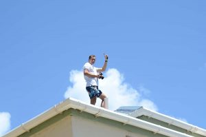 2011 April 06 Travel Photographer-Igor Kravtchenko- on assignement for postcards on the roof of Long Bay Resort in Tortola