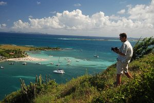 2011 October 16 Travel Photographer KiMAGIC - Igor Kravtchenko taking photos of Pinel Island in Saint Martin