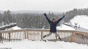 Happy photographer- Gary Cralle- Arrowhead Provincial Park Ontario