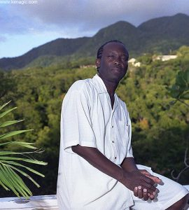 King of Soca - Arrow Cassell in his villa in Montserrat photographed by Igor Kravtchenko