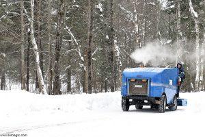 Olympia Ice Machine -Arrowhead Provincial Park Ontario