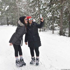 Selfie on Ice- Arrowhead Provincial Park Ontario